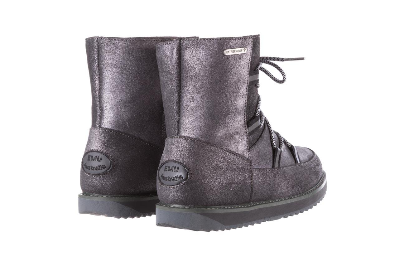 Śniegowce emu rutledge dark grey, szary, skóra naturalna  - śniegowce - śniegowce i kalosze - buty damskie - kobieta 14