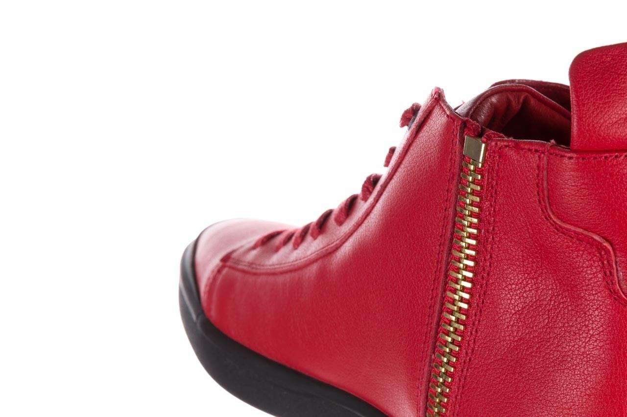Trampki john doubare m5761-3 red, czerwony, skóra naturalna - mężczyzna 17
