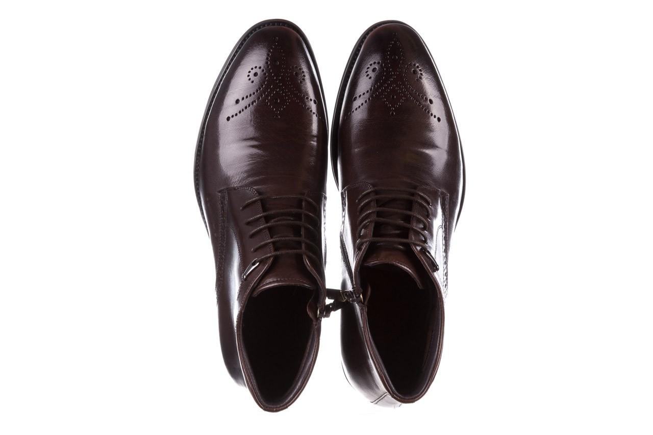 Trzewiki john doubare 992b-716g132-r brown, brąz, skóra naturalna - trzewiki - buty męskie - mężczyzna 13