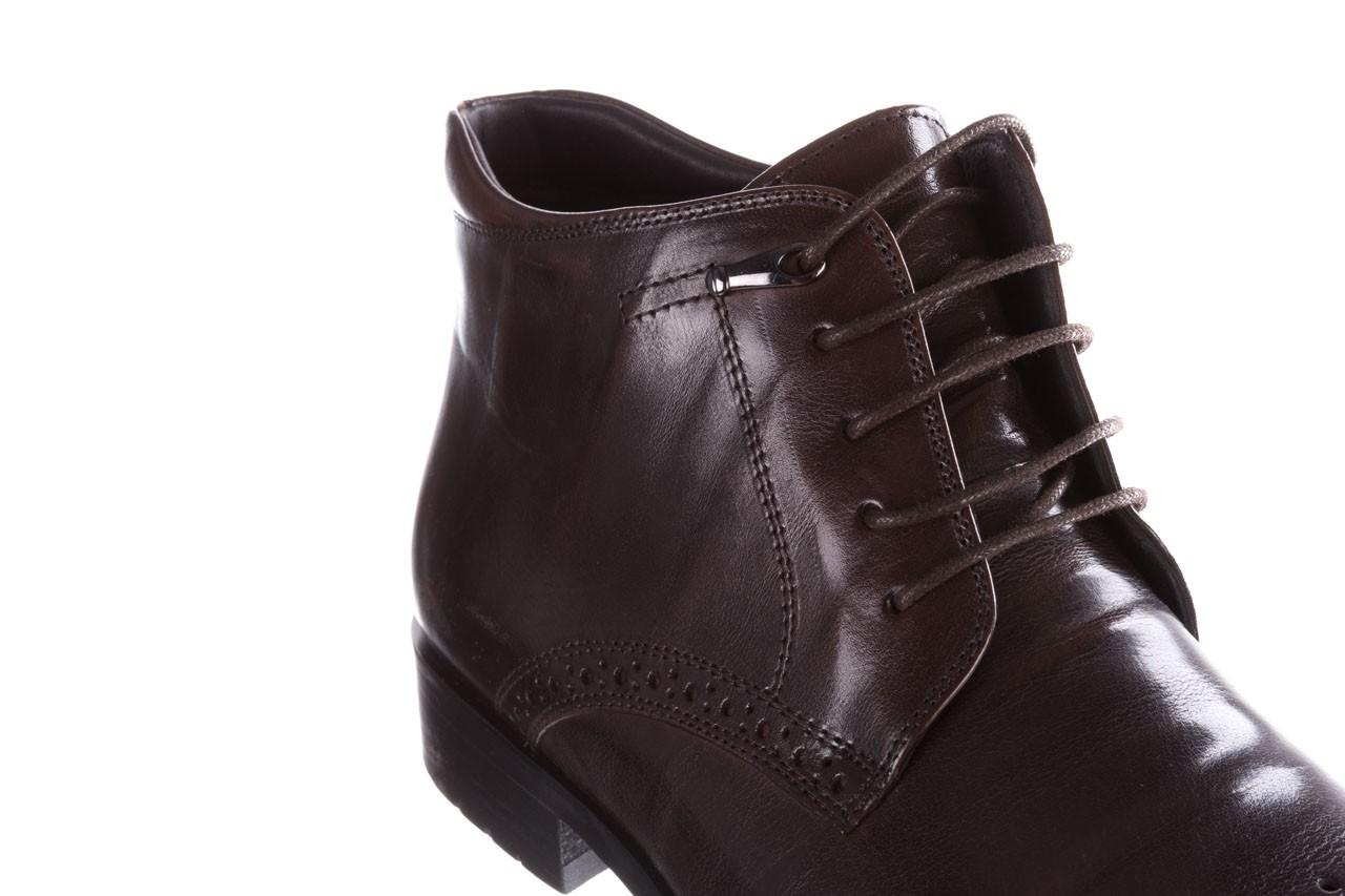 Trzewiki john doubare 992b-716g132-r brown, brąz, skóra naturalna - trzewiki - buty męskie - mężczyzna 14