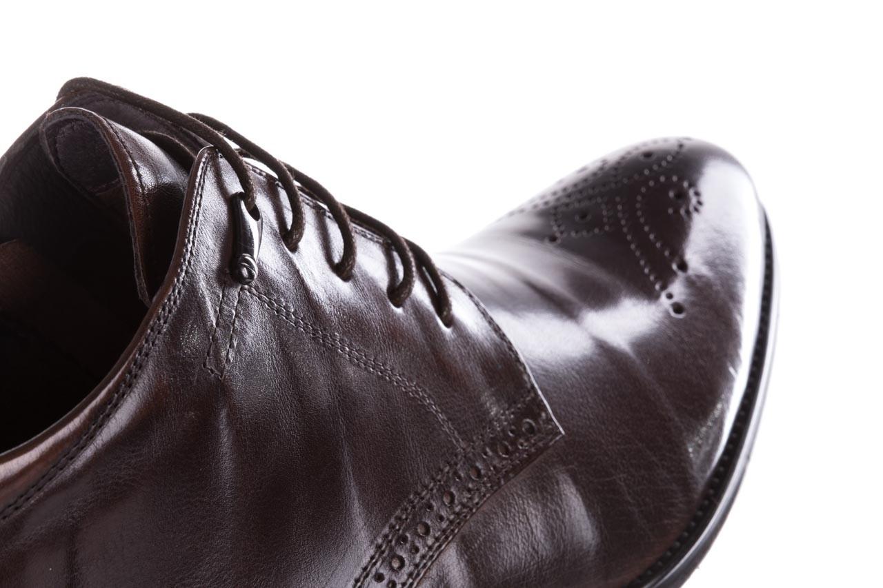 Trzewiki john doubare 992b-716g132-r brown, brąz, skóra naturalna - trzewiki - buty męskie - mężczyzna 15
