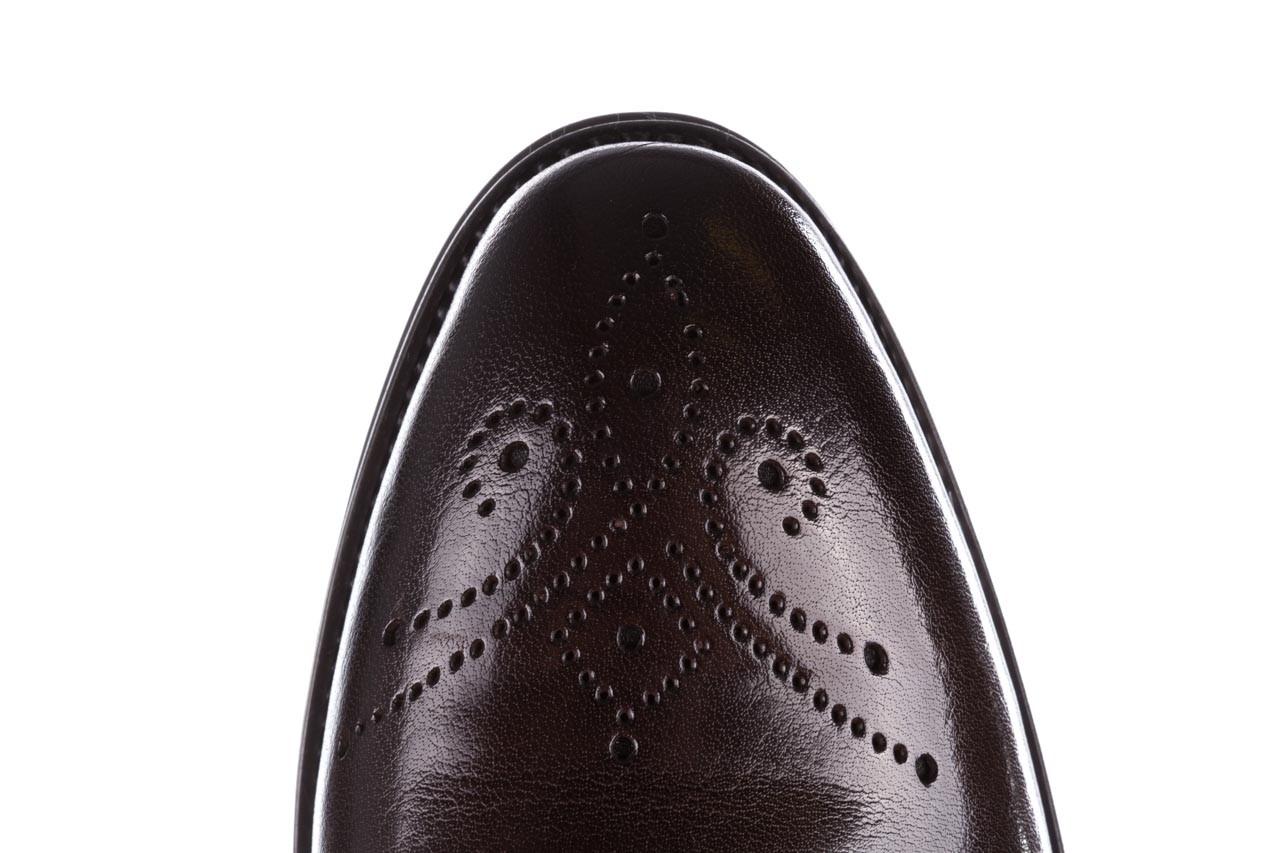 Trzewiki john doubare 992b-716g132-r brown, brąz, skóra naturalna - trzewiki - buty męskie - mężczyzna 16