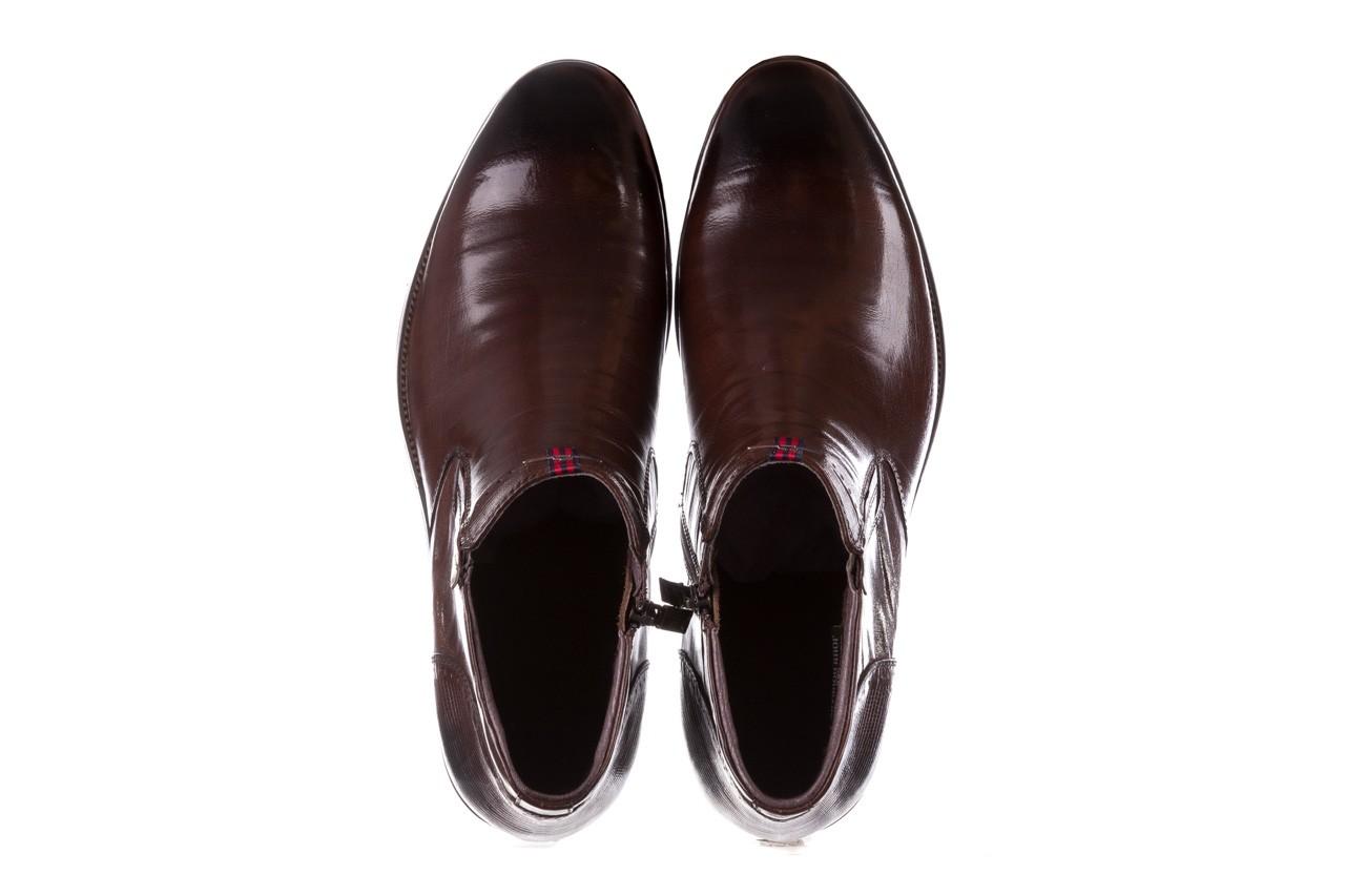 Trzewiki john doubare 212h-50-n002r brown, brąz, skóra naturalna - obuwie wizytowe - buty męskie - mężczyzna 13