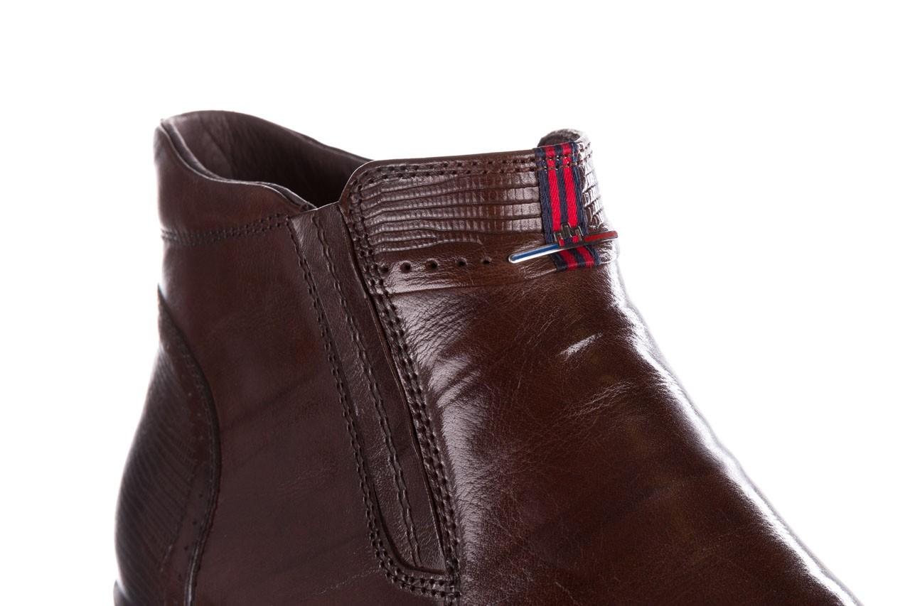 Trzewiki john doubare 212h-50-n002r brown, brąz, skóra naturalna - obuwie wizytowe - buty męskie - mężczyzna 14