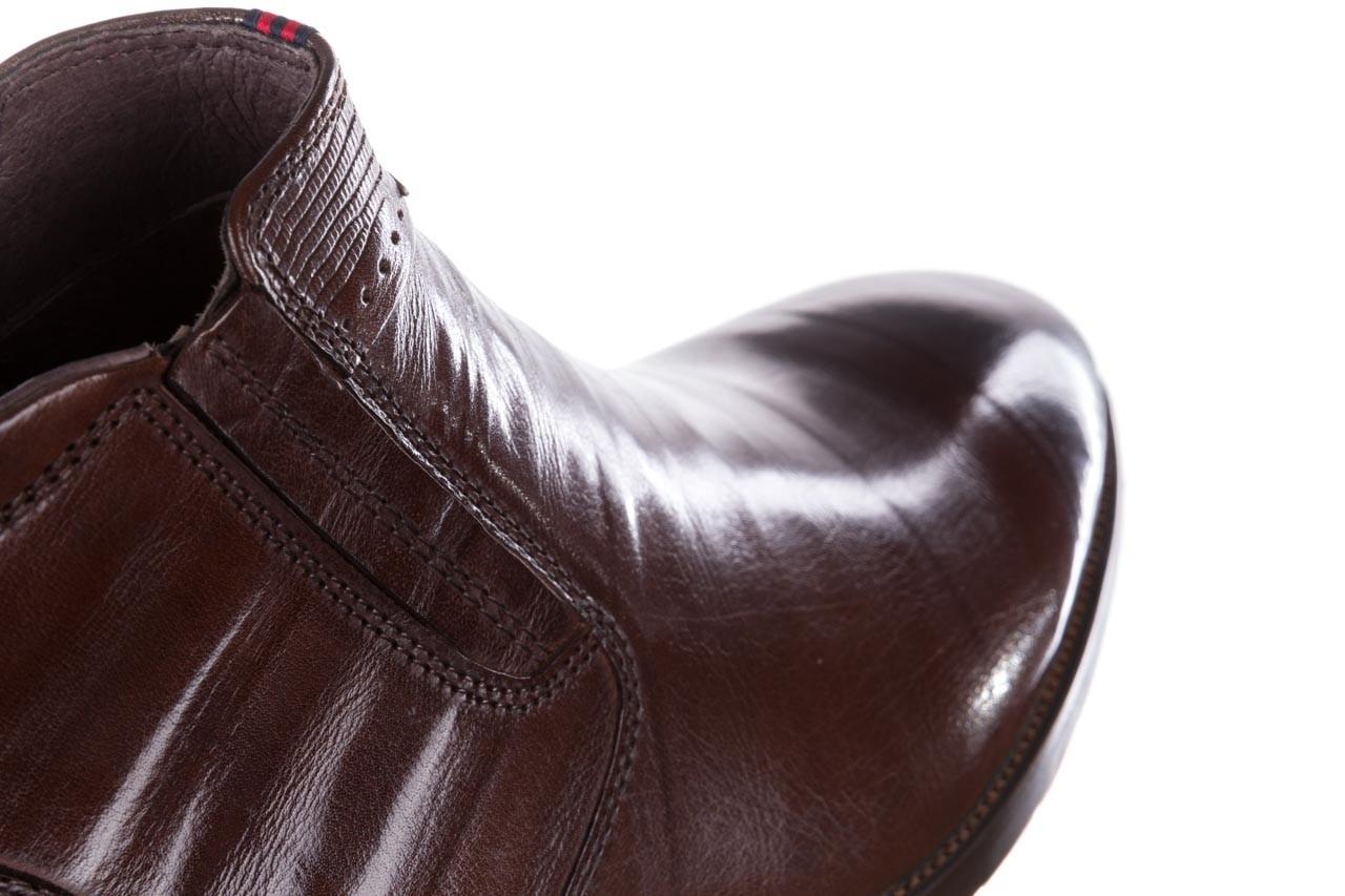 Trzewiki john doubare 212h-50-n002r brown, brąz, skóra naturalna - obuwie wizytowe - buty męskie - mężczyzna 15