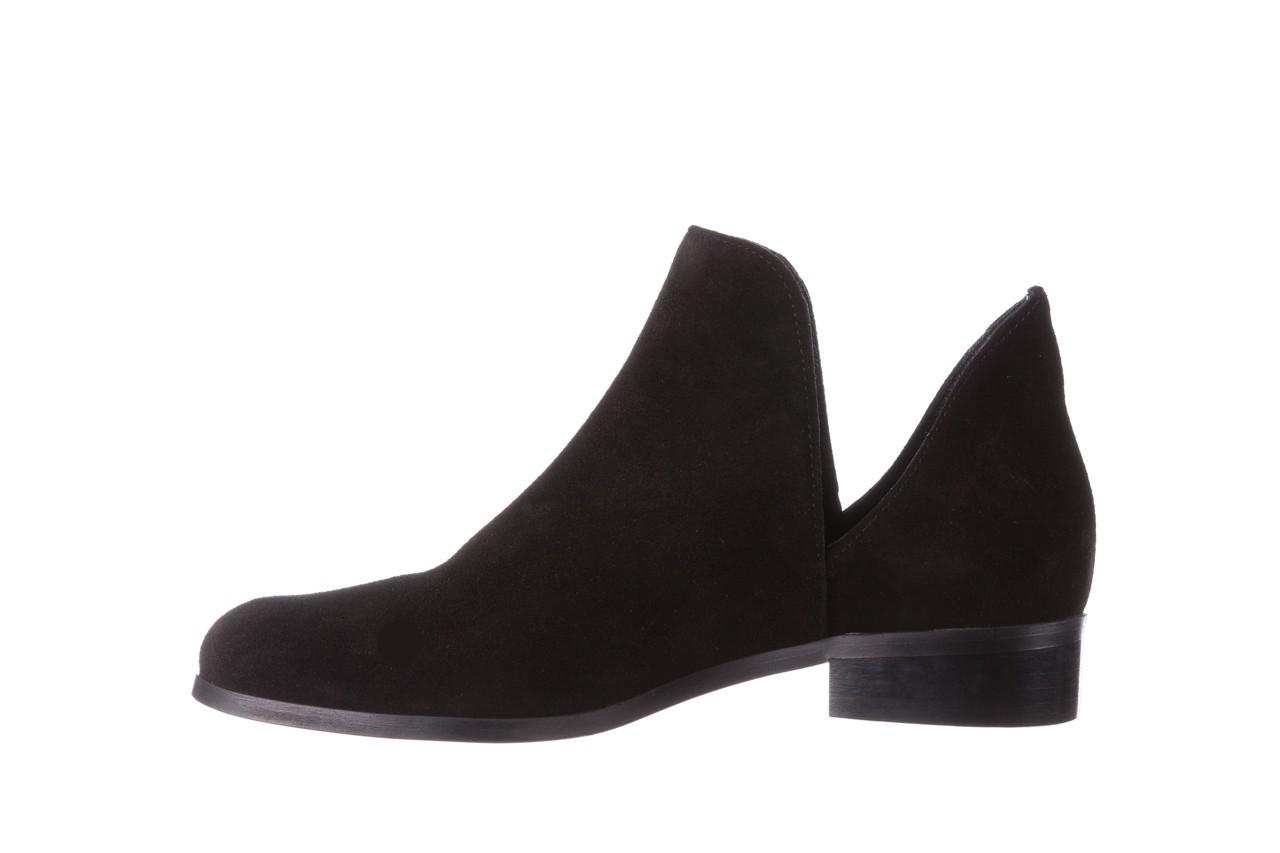 Botki bayla-157 b028-126-p czarny, skóra naturalna - zamszowe - botki - buty damskie - kobieta 11