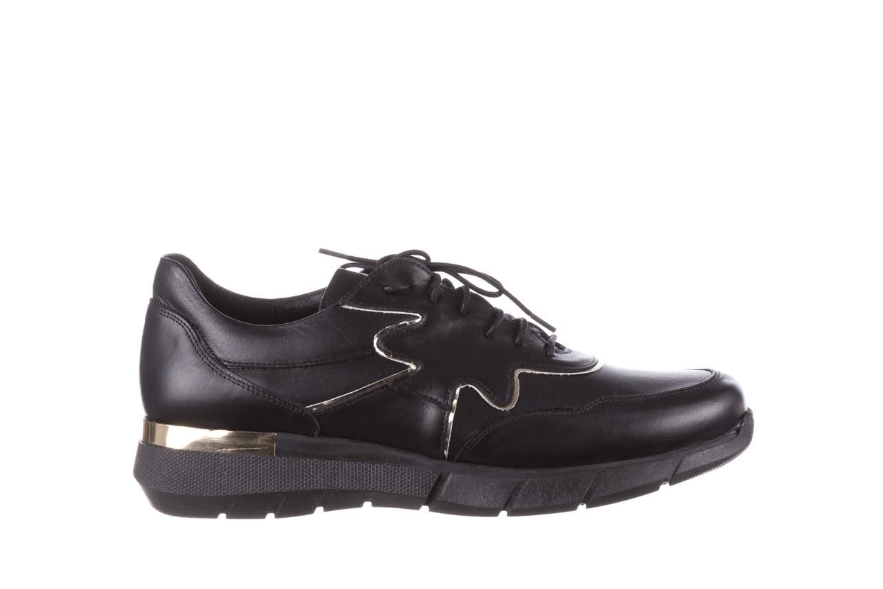 Trampki bayla-157 b026-076-p czarny, skóra naturalna - skórzane - trampki - buty damskie - kobieta 10