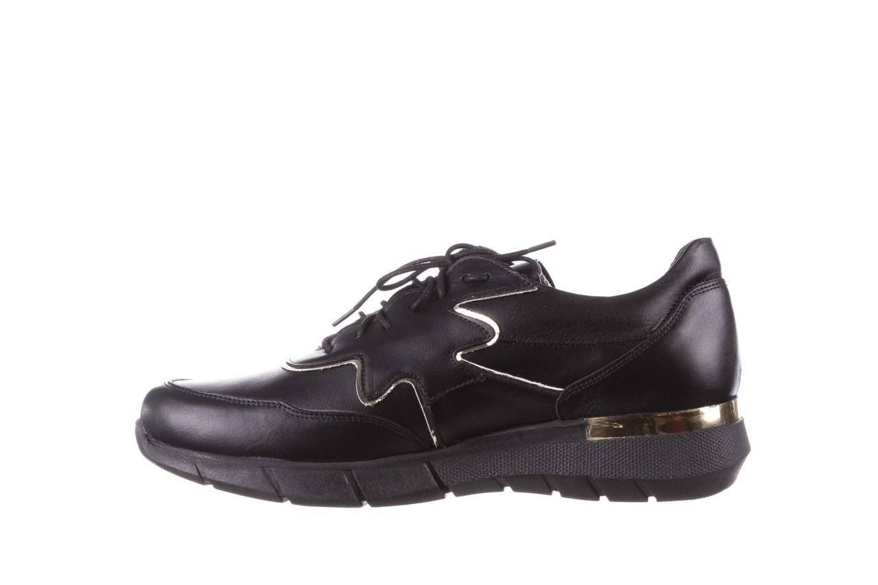 Trampki bayla-157 b026-076-p czarny, skóra naturalna - niskie - trampki - buty damskie - kobieta 13