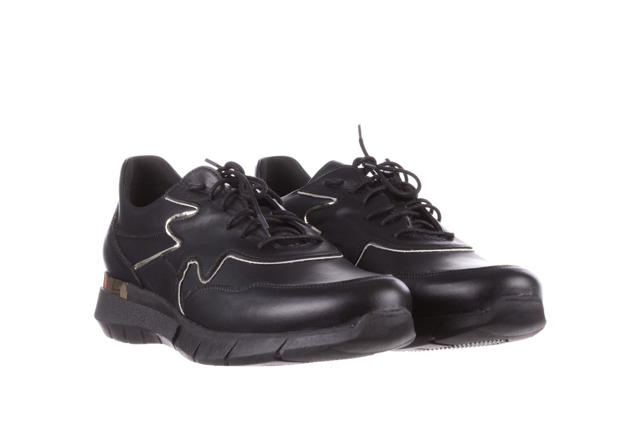 Trampki bayla-157 b026-076-p czarny, skóra naturalna - niskie - trampki - buty damskie - kobieta 11