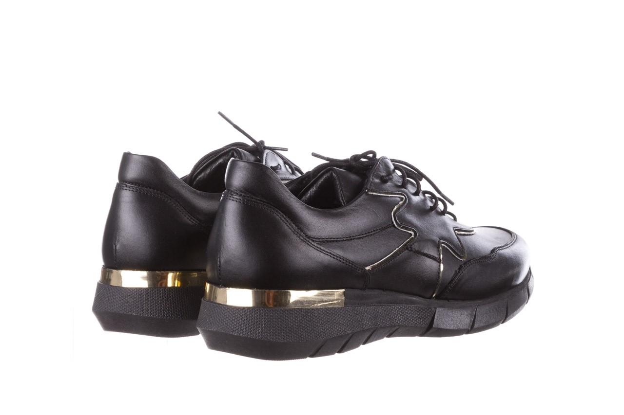 Trampki bayla-157 b026-076-p czarny, skóra naturalna - niskie - trampki - buty damskie - kobieta 14