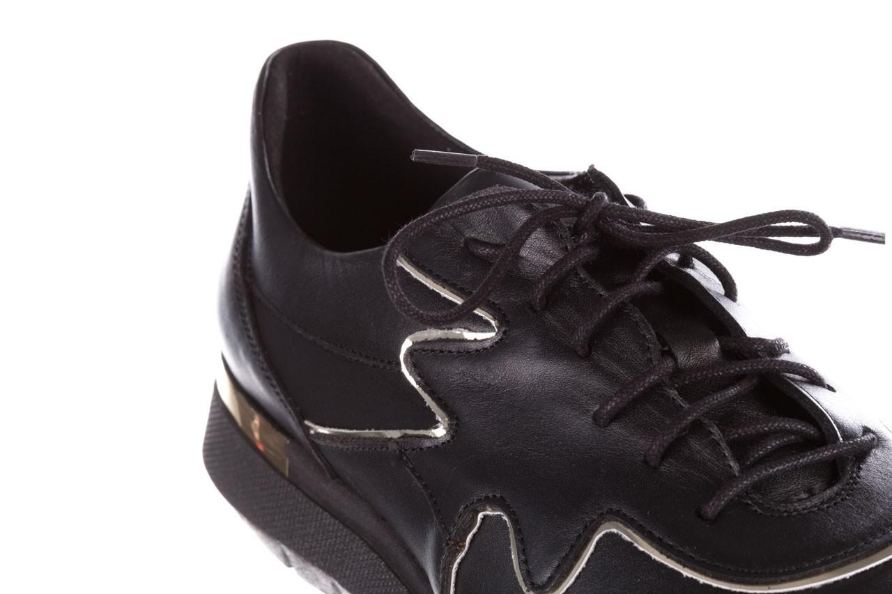 Trampki bayla-157 b026-076-p czarny, skóra naturalna - niskie - trampki - buty damskie - kobieta 16