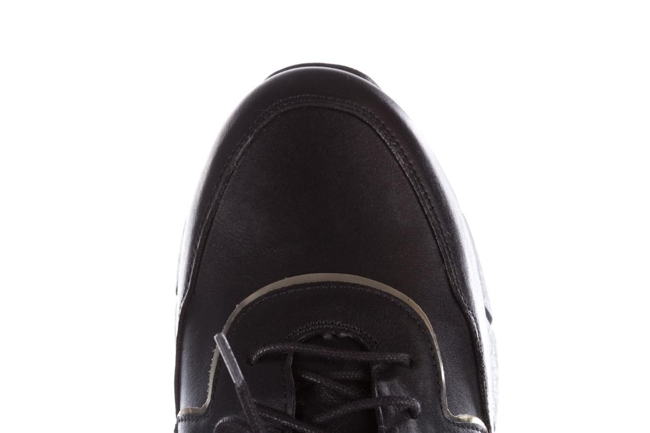 Trampki bayla-157 b026-076-p czarny, skóra naturalna - skórzane - trampki - buty damskie - kobieta 17