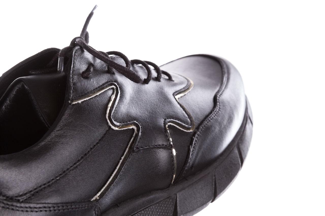 Trampki bayla-157 b026-076-p czarny, skóra naturalna - trampki - buty damskie - kobieta 18