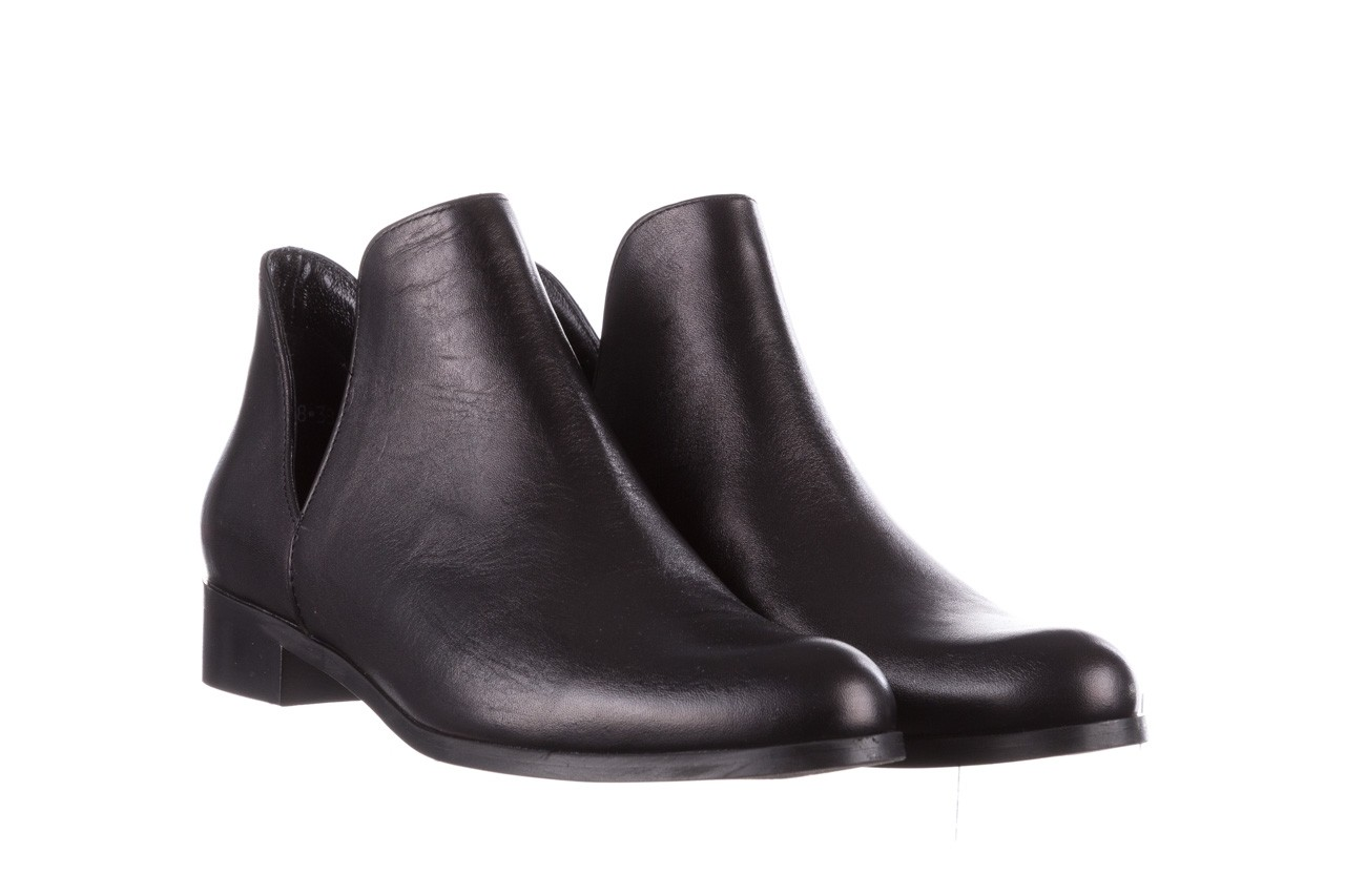 Botki bayla-157 b028-076-p czarny, skóra naturalna - sztyblety - botki - buty damskie - kobieta 9
