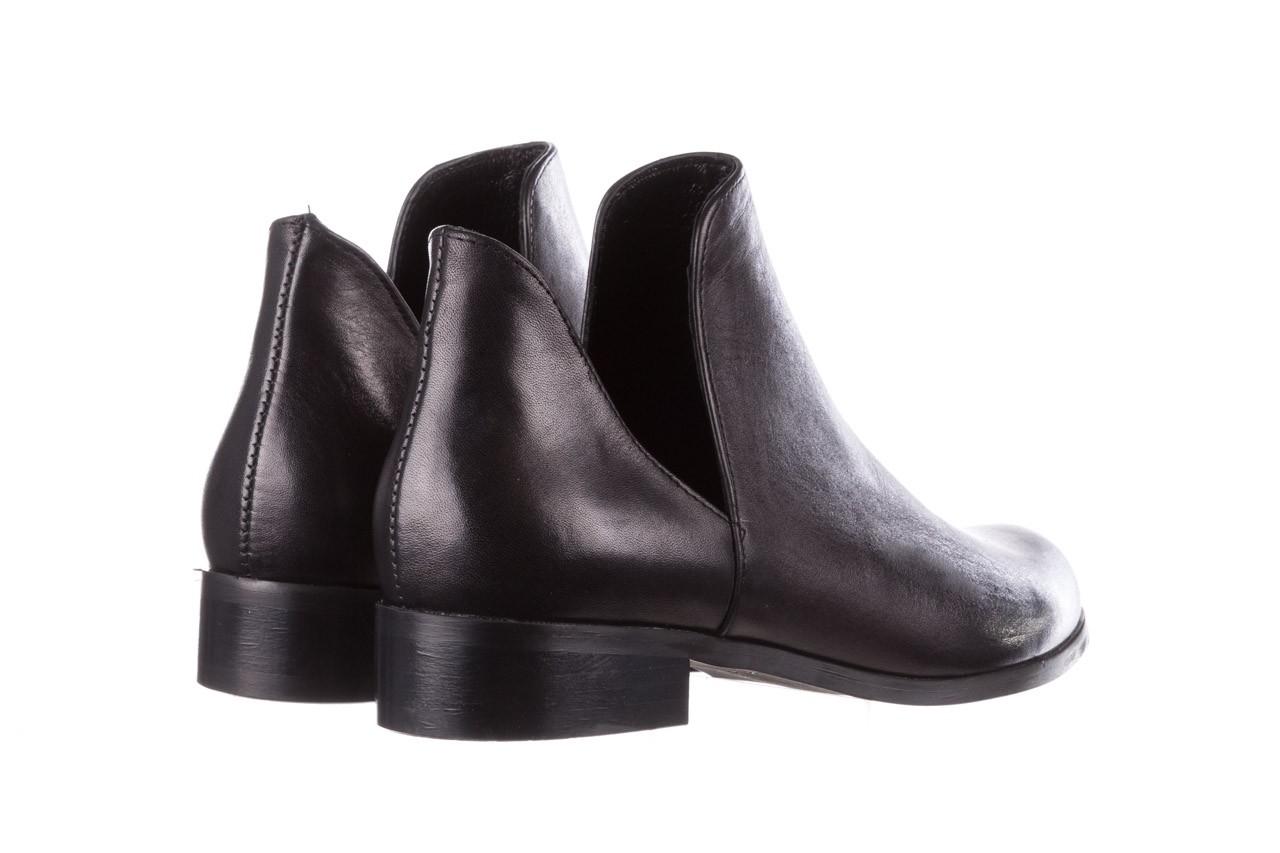 Botki bayla-157 b028-076-p czarny, skóra naturalna - sztyblety - botki - buty damskie - kobieta 13