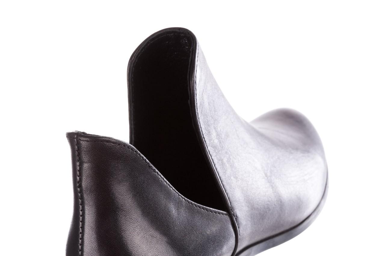 Botki bayla-157 b028-076-p czarny, skóra naturalna - sztyblety - botki - buty damskie - kobieta 14