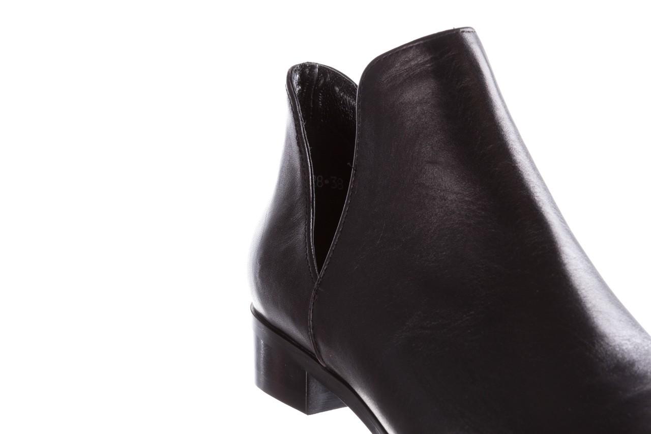 Botki bayla-157 b028-076-p czarny, skóra naturalna - sztyblety - botki - buty damskie - kobieta 15