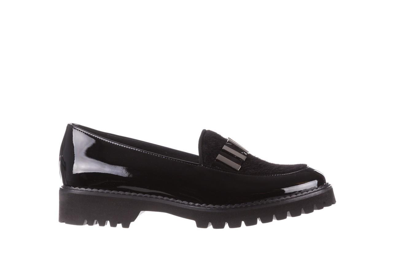 Półbuty bayla-157 b023-126-p czarny, skóra naturalna lakierowana - półbuty - buty damskie - kobieta 8