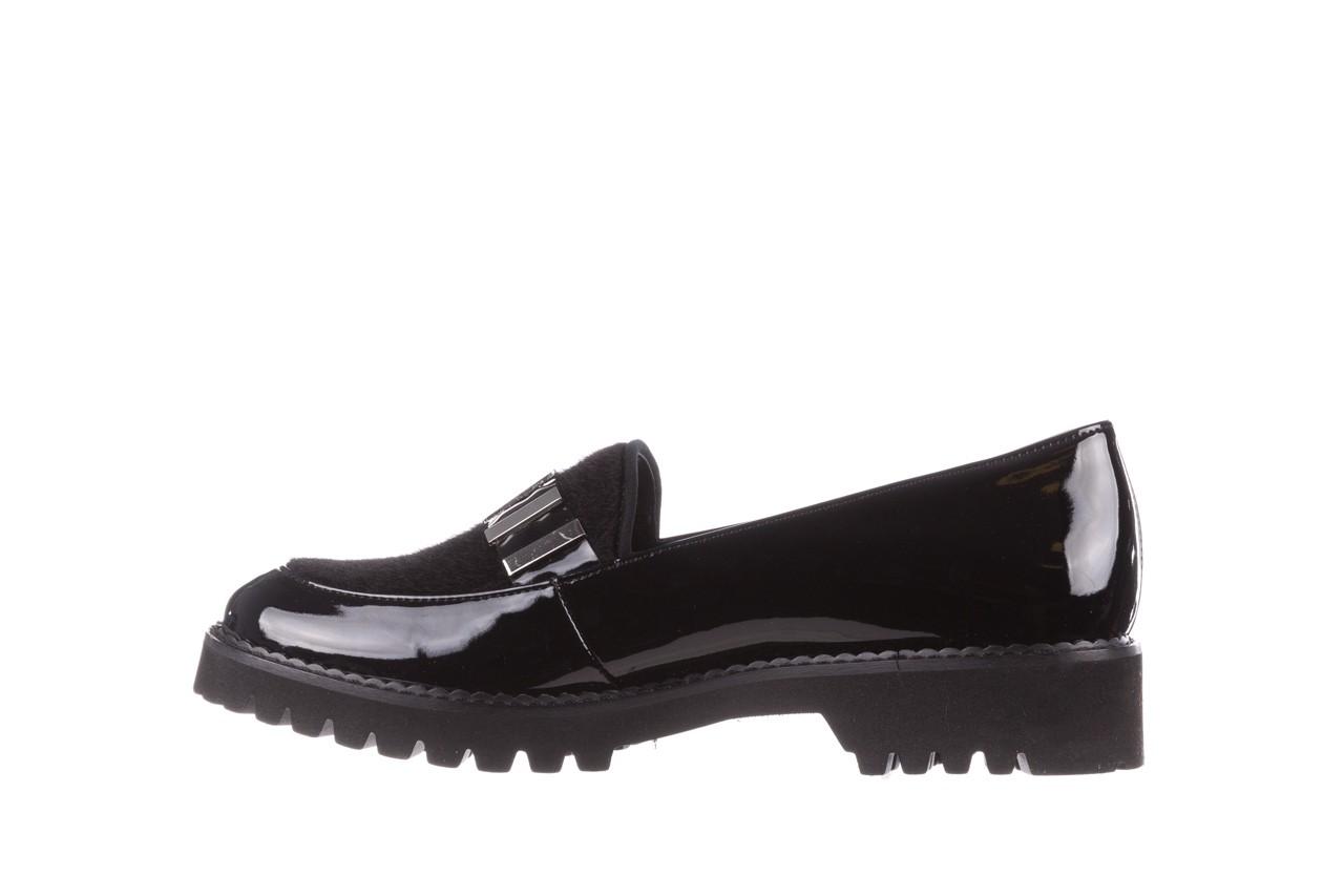 Półbuty bayla-157 b023-126-p czarny, skóra naturalna lakierowana - półbuty - buty damskie - kobieta 11