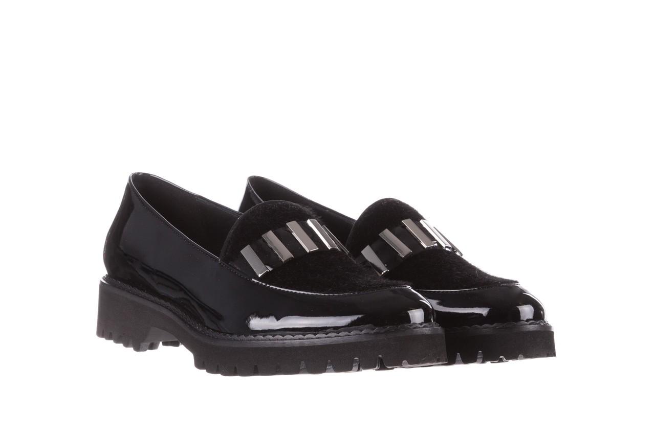 Półbuty bayla-157 b023-126-p czarny, skóra naturalna lakierowana - półbuty - buty damskie - kobieta 9