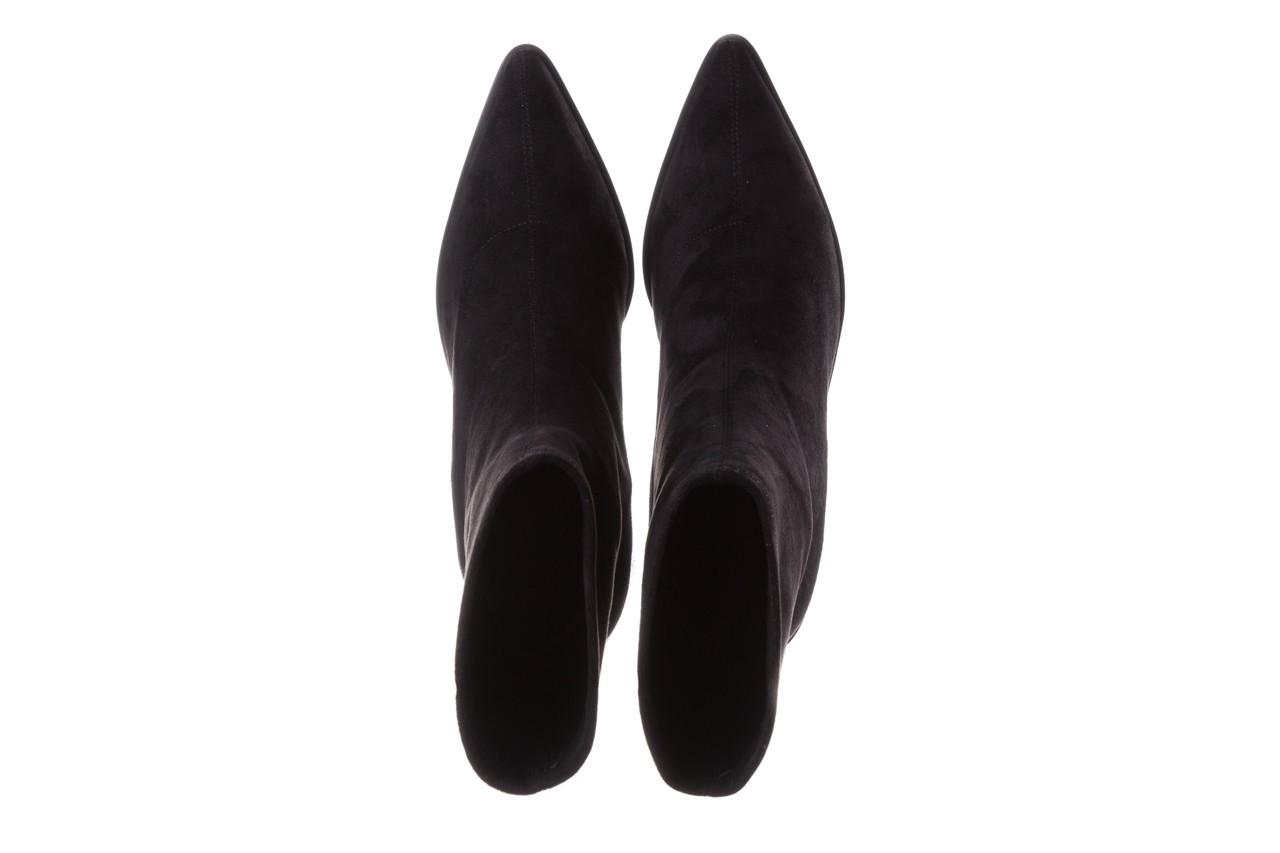 Botki sca'viola e-28 black, czarny, materiał - sca`viola - nasze marki 15