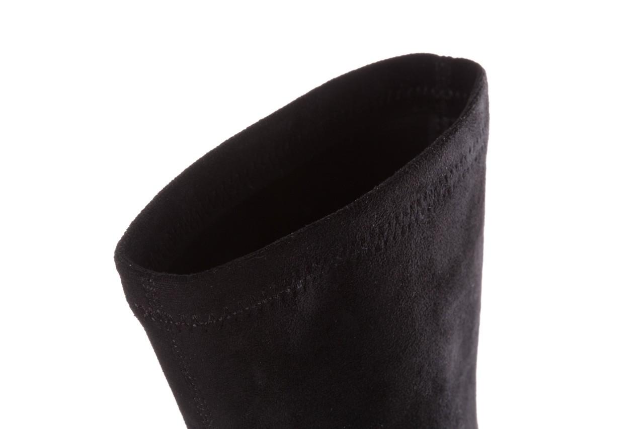 Botki sca'viola e-28 black, czarny, materiał - sca`viola - nasze marki 17