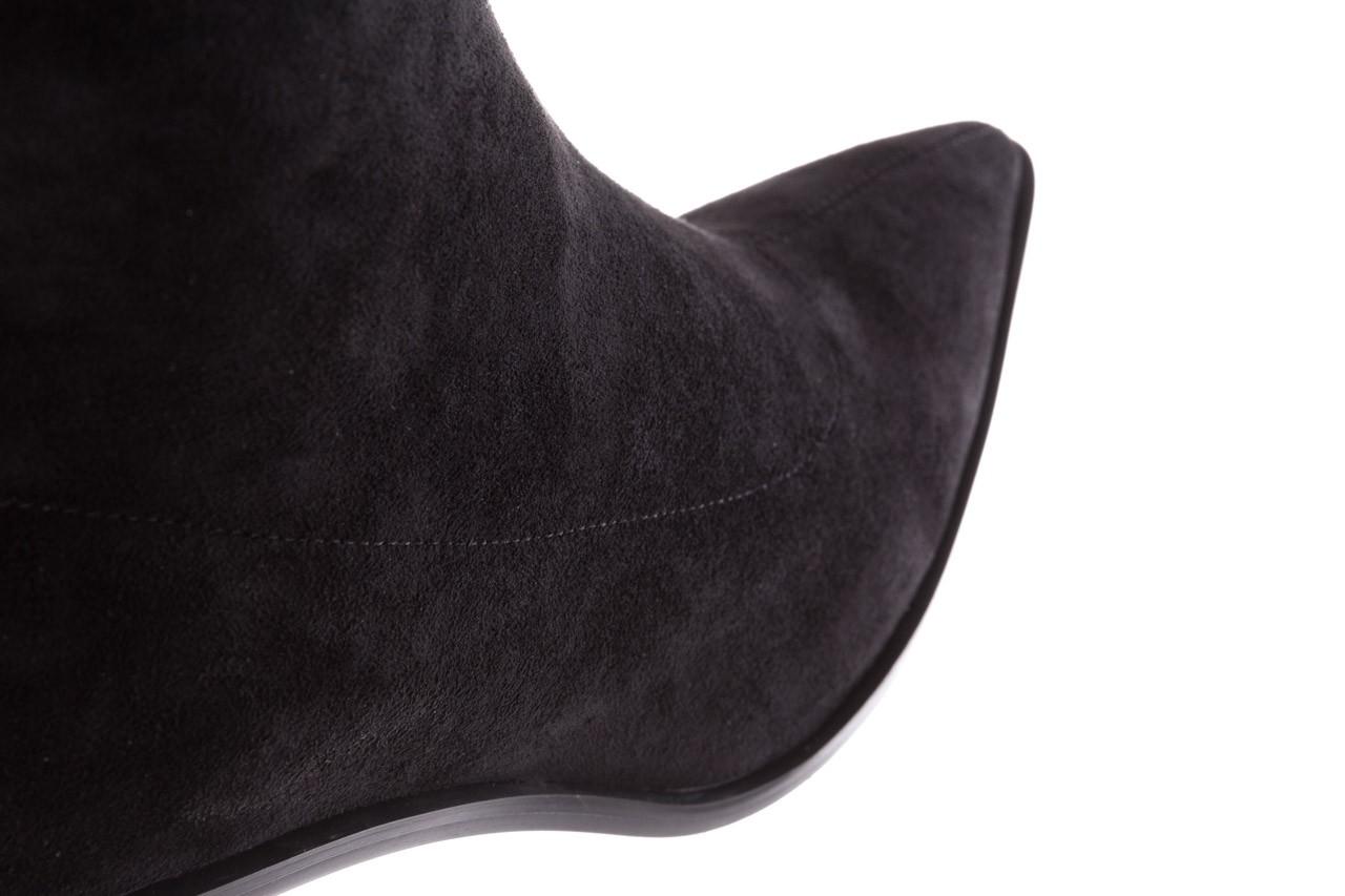 Botki sca'viola e-28 black, czarny, materiał - sca`viola - nasze marki 16