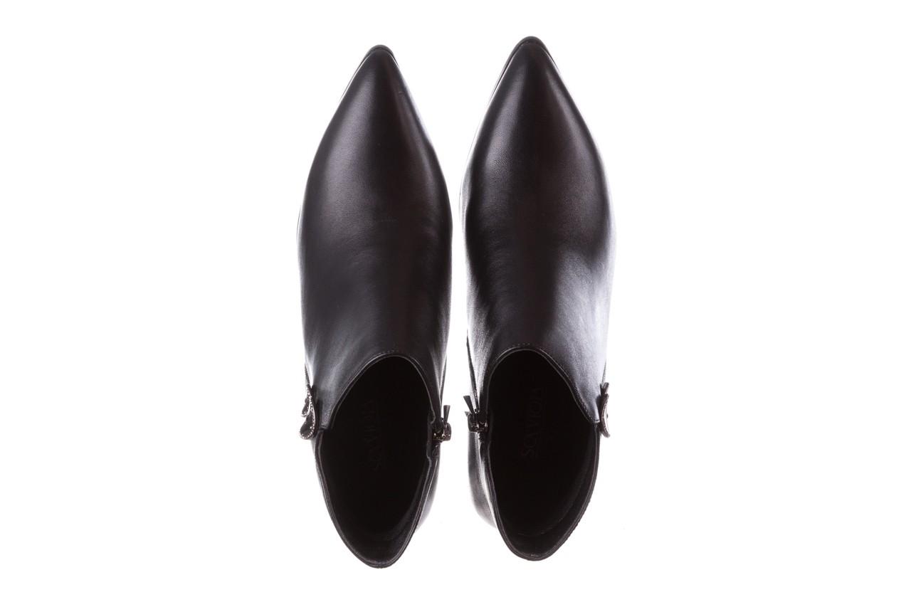 Botki sca'viola f-173 black leather, czarny, skóra naturalna - sca`viola - nasze marki 15