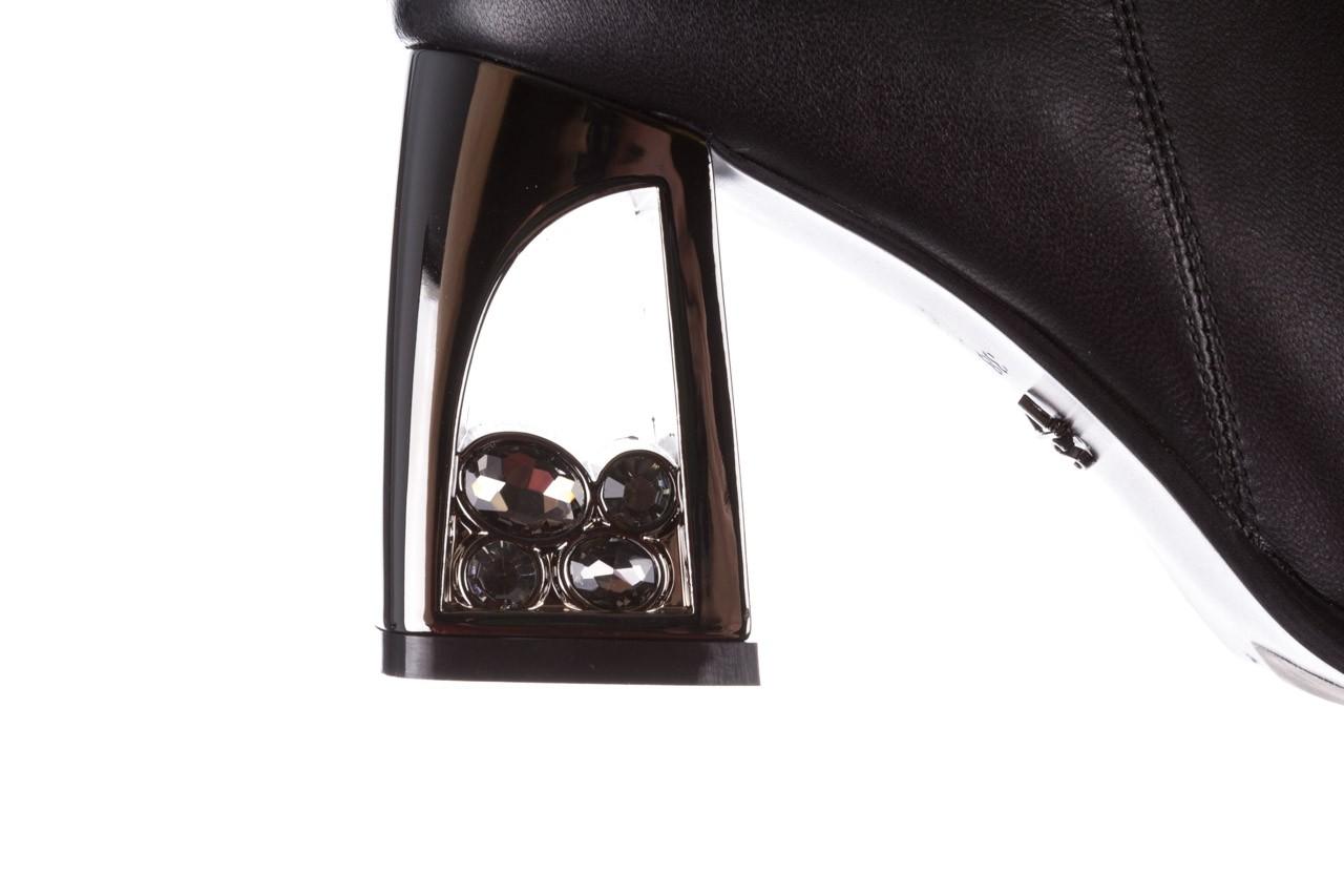 Botki sca'viola f-173 black leather, czarny, skóra naturalna - skórzane - botki - buty damskie - kobieta 19