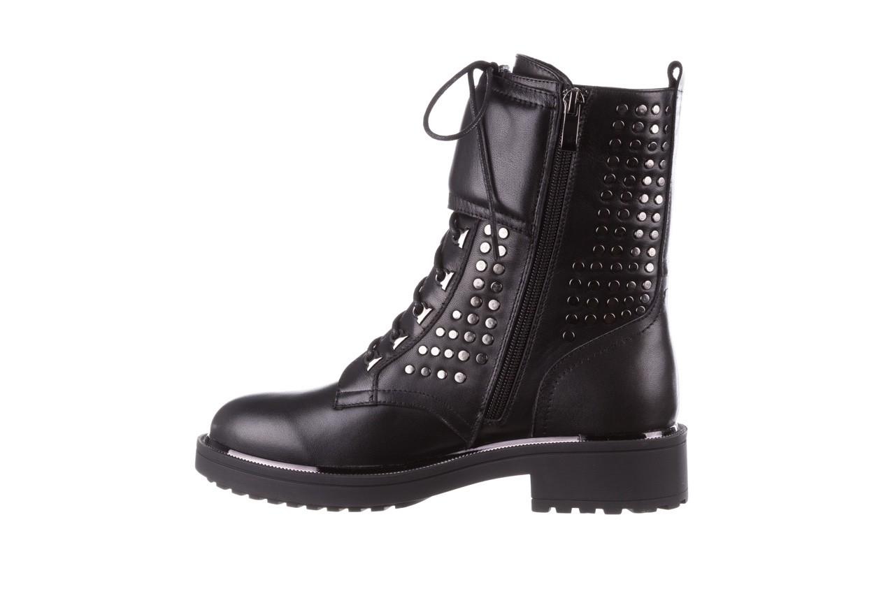 Trzewiki sca'viola p-35 black, czarny, skóra naturalna - trzewiki - buty damskie - kobieta 13