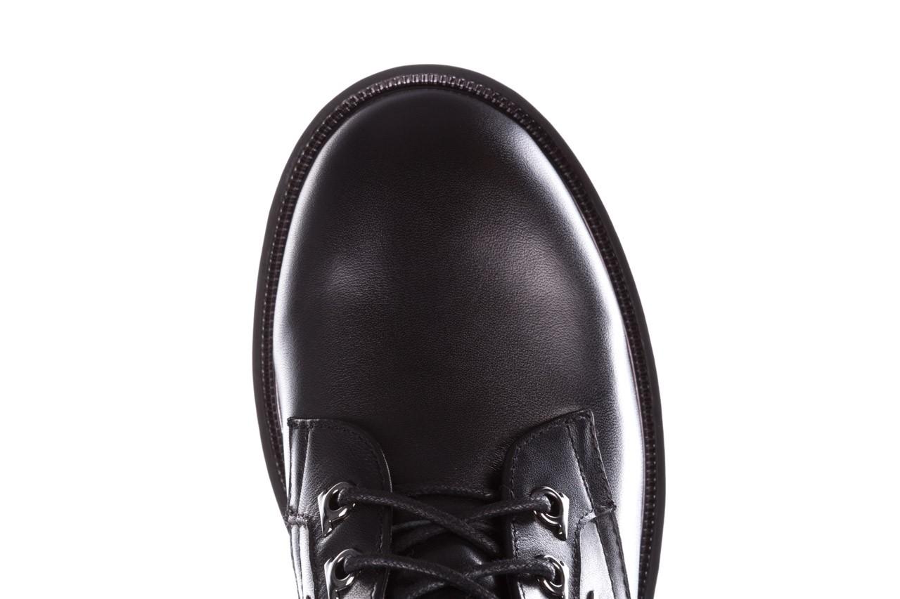 Trzewiki sca'viola p-35 black, czarny, skóra naturalna - trzewiki - buty damskie - kobieta 18