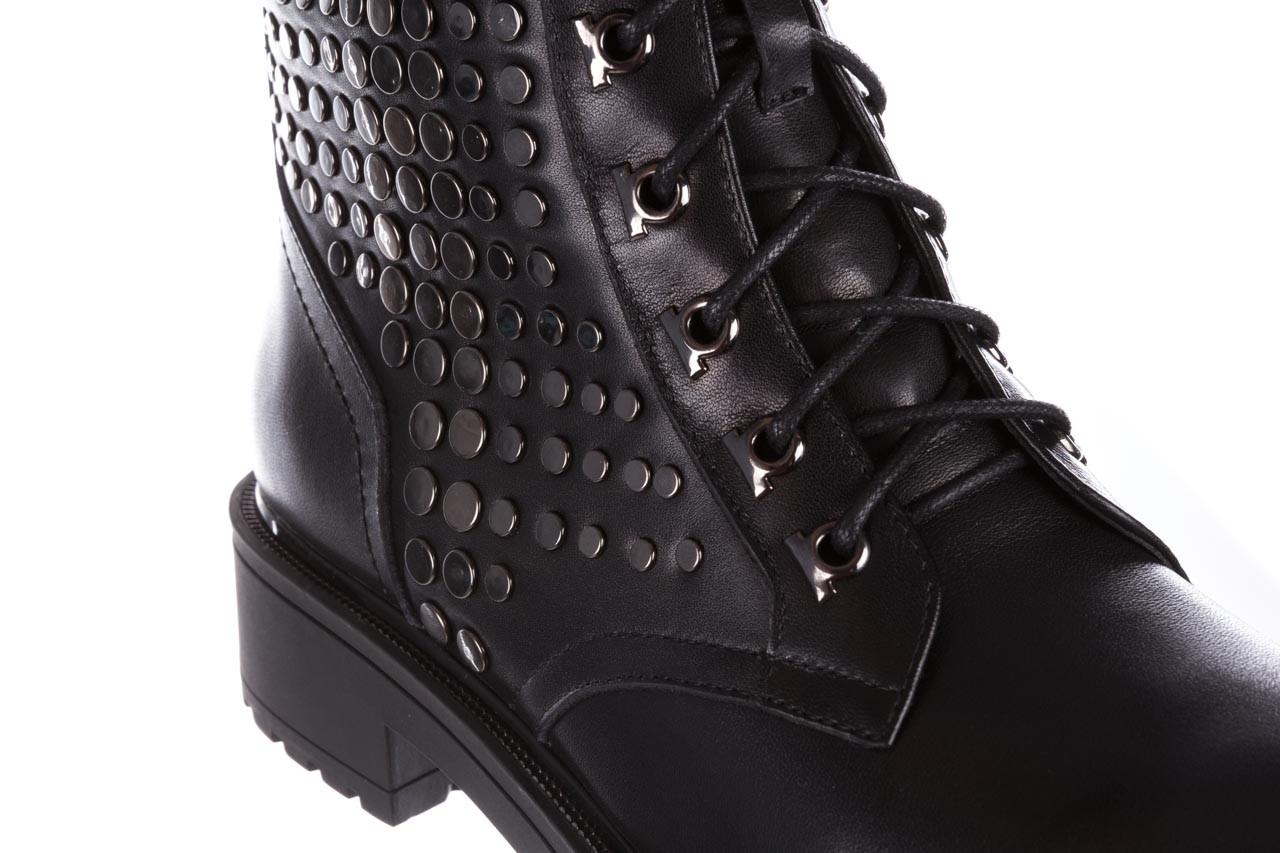 Trzewiki sca'viola p-35 black, czarny, skóra naturalna - trzewiki - buty damskie - kobieta 16
