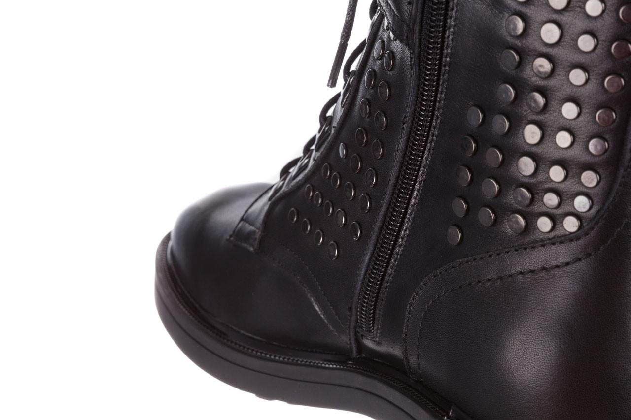Trzewiki sca'viola p-35 black, czarny, skóra naturalna - trzewiki - buty damskie - kobieta 19