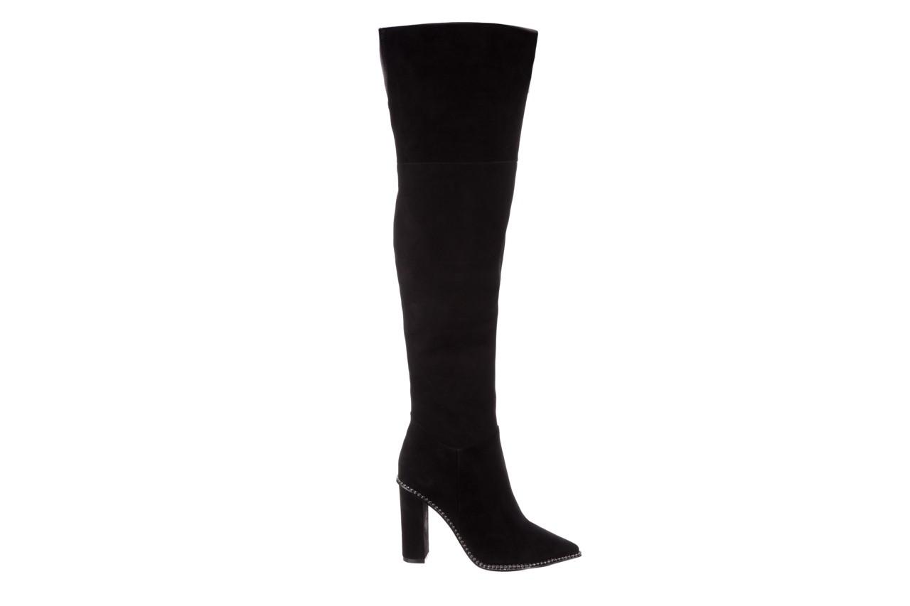 Kozaki sca'viola e-19 black suede, czarny, skóra naturalna - kozaki - buty damskie - kobieta 12