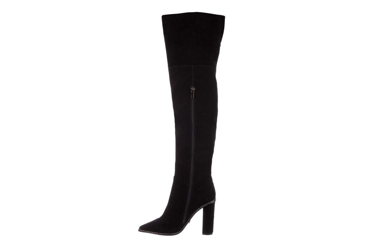 Kozaki sca'viola e-19 black suede, czarny, skóra naturalna - kozaki - buty damskie - kobieta 15