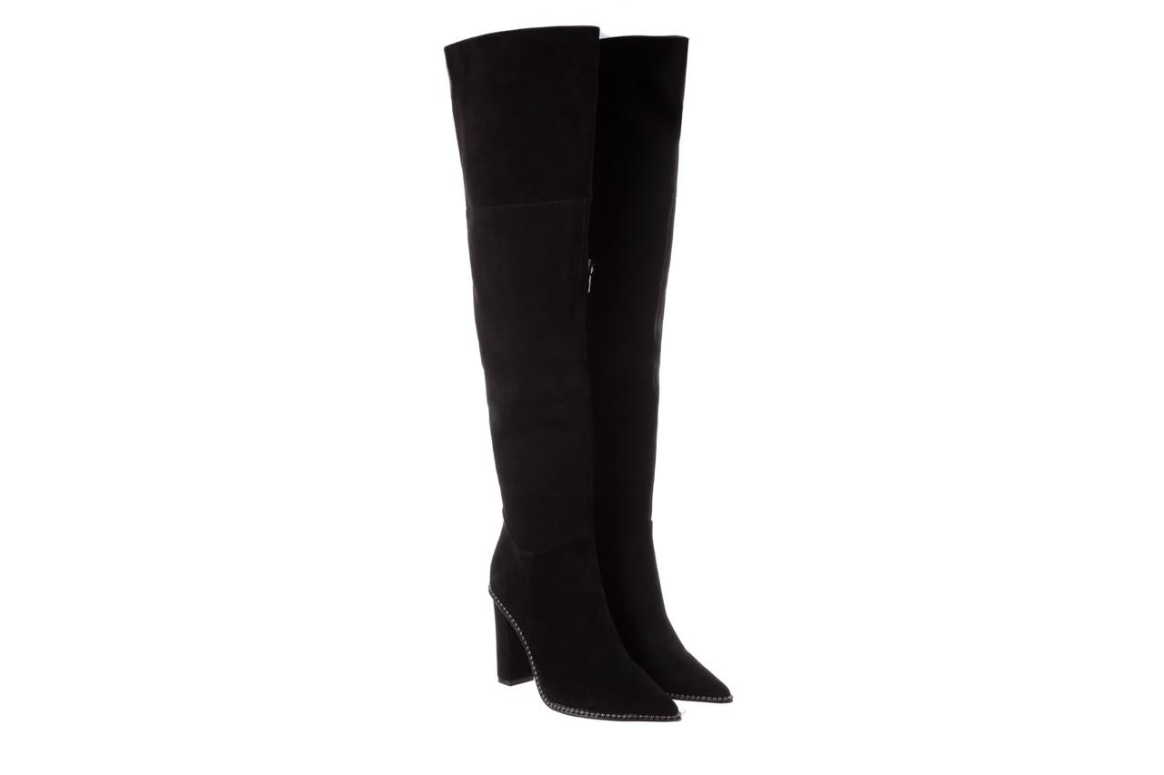 Kozaki sca'viola e-19 black suede, czarny, skóra naturalna - kozaki - buty damskie - kobieta 13