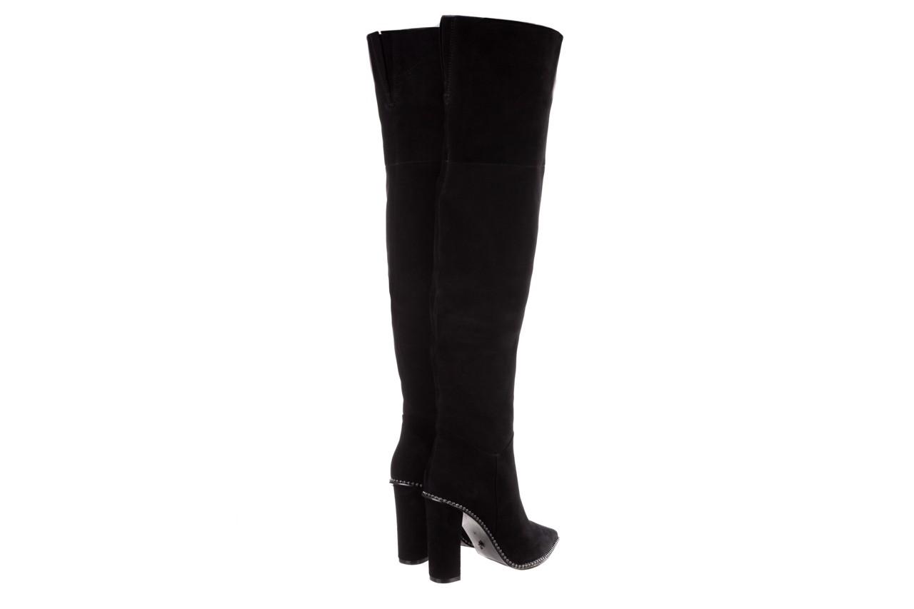 Kozaki sca'viola e-19 black suede, czarny, skóra naturalna - kozaki - buty damskie - kobieta 16