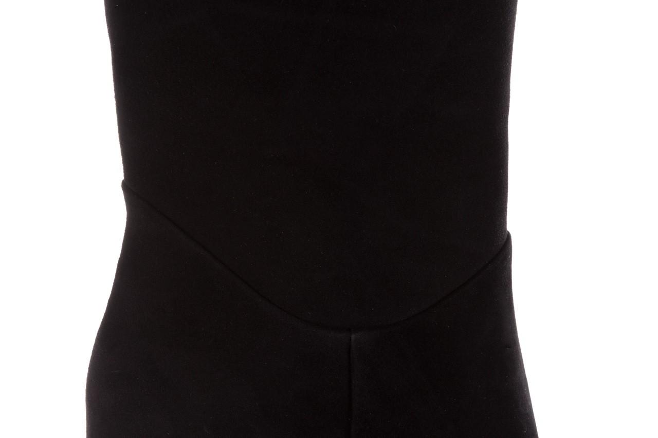 Kozaki sca'viola e-19 black suede, czarny, skóra naturalna - kozaki - buty damskie - kobieta 17