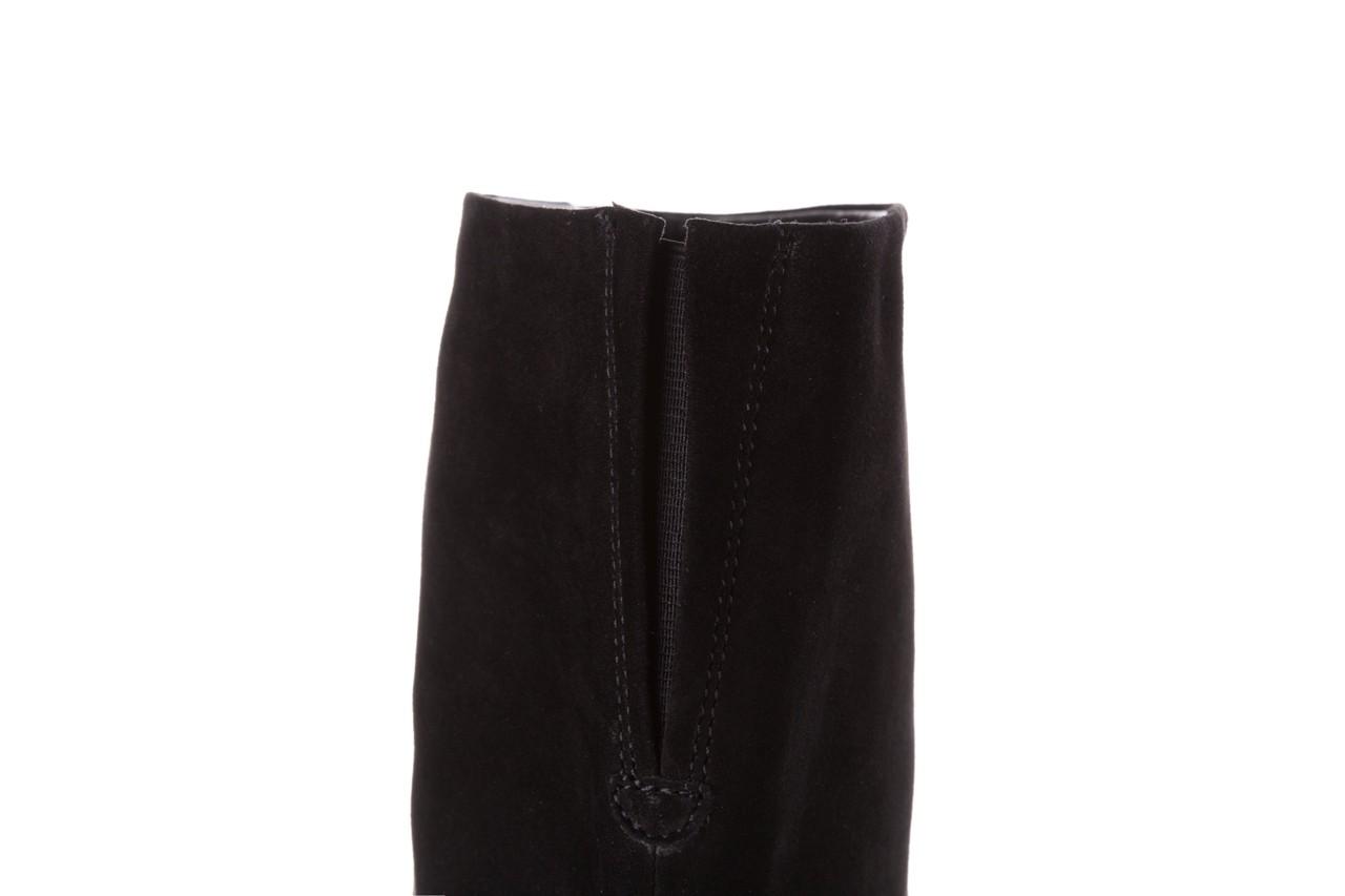 Kozaki sca'viola e-19 black suede, czarny, skóra naturalna - kozaki - buty damskie - kobieta 18