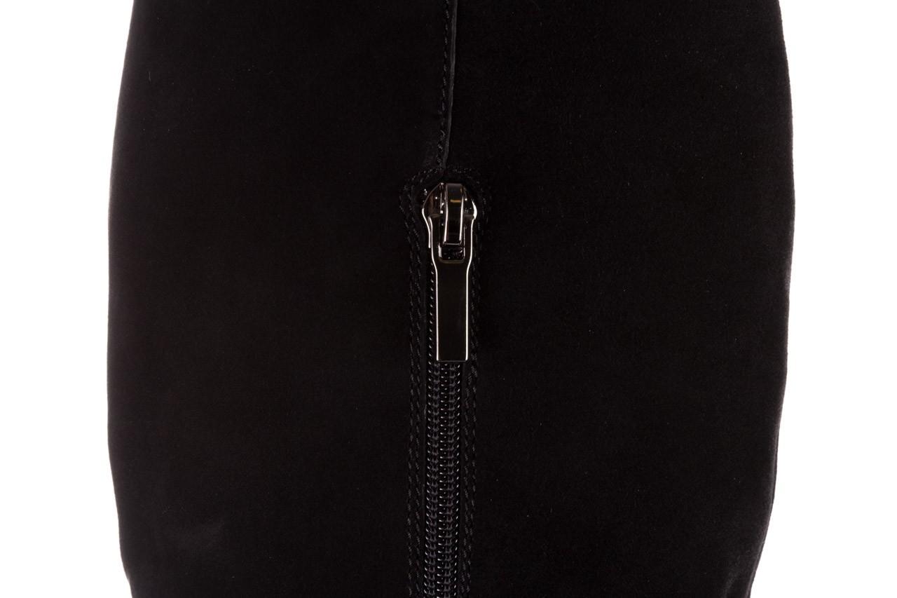 Kozaki sca'viola e-19 black suede, czarny, skóra naturalna - kozaki - buty damskie - kobieta 19