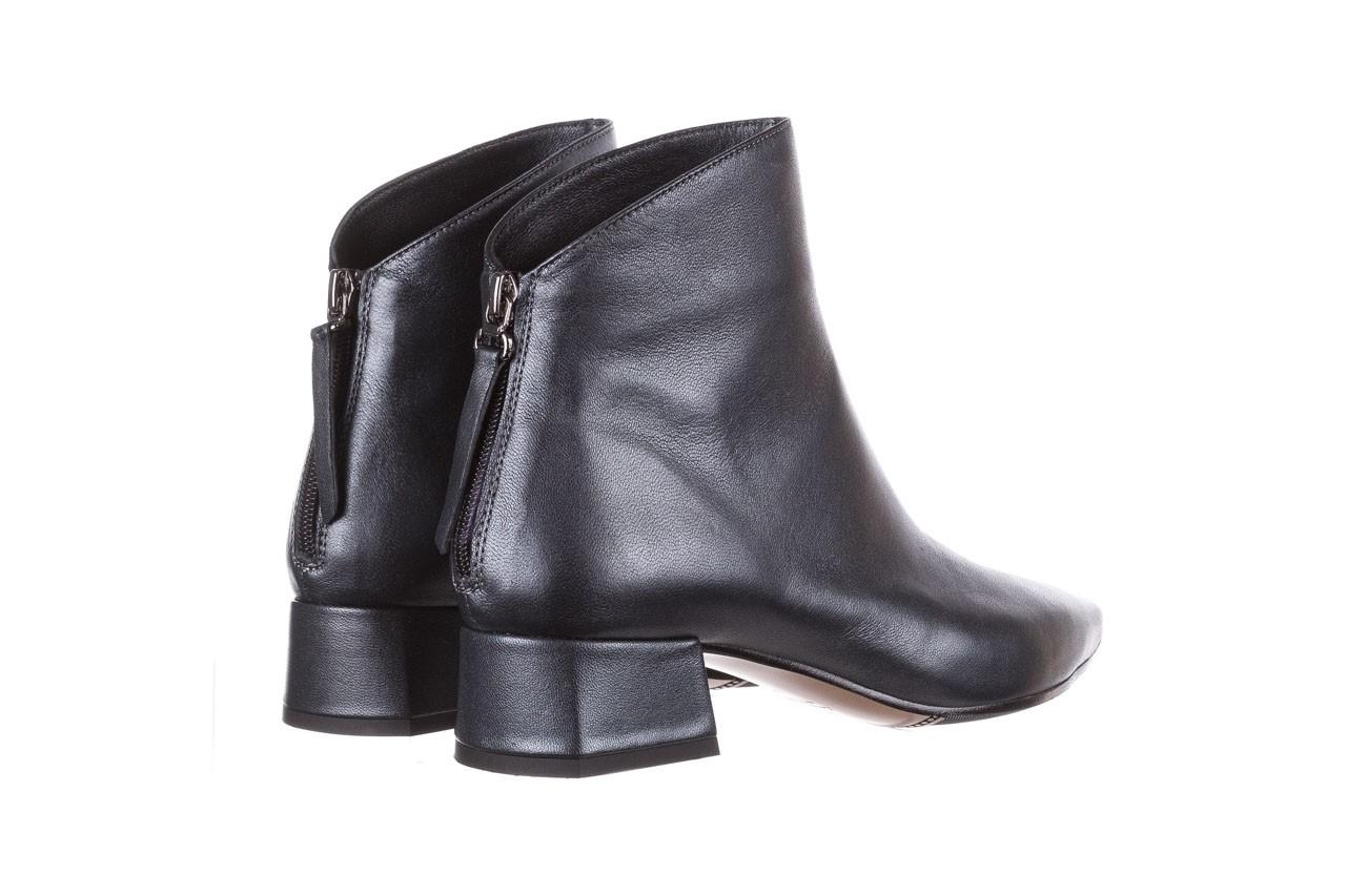 Botki bayla-188 004 metal szary, skóra naturalna - skórzane - botki - buty damskie - kobieta 14