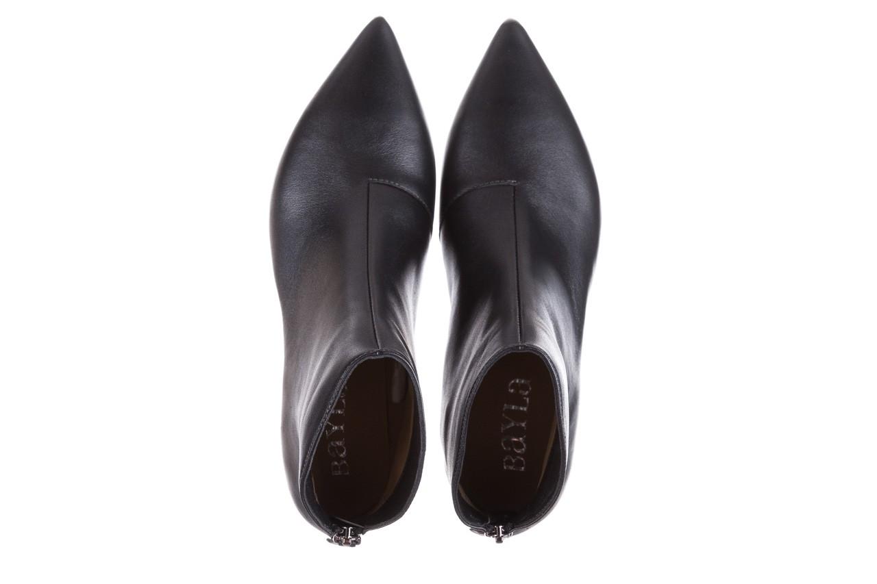 Botki bayla-188 004 metal szary, skóra naturalna - skórzane - botki - buty damskie - kobieta 13
