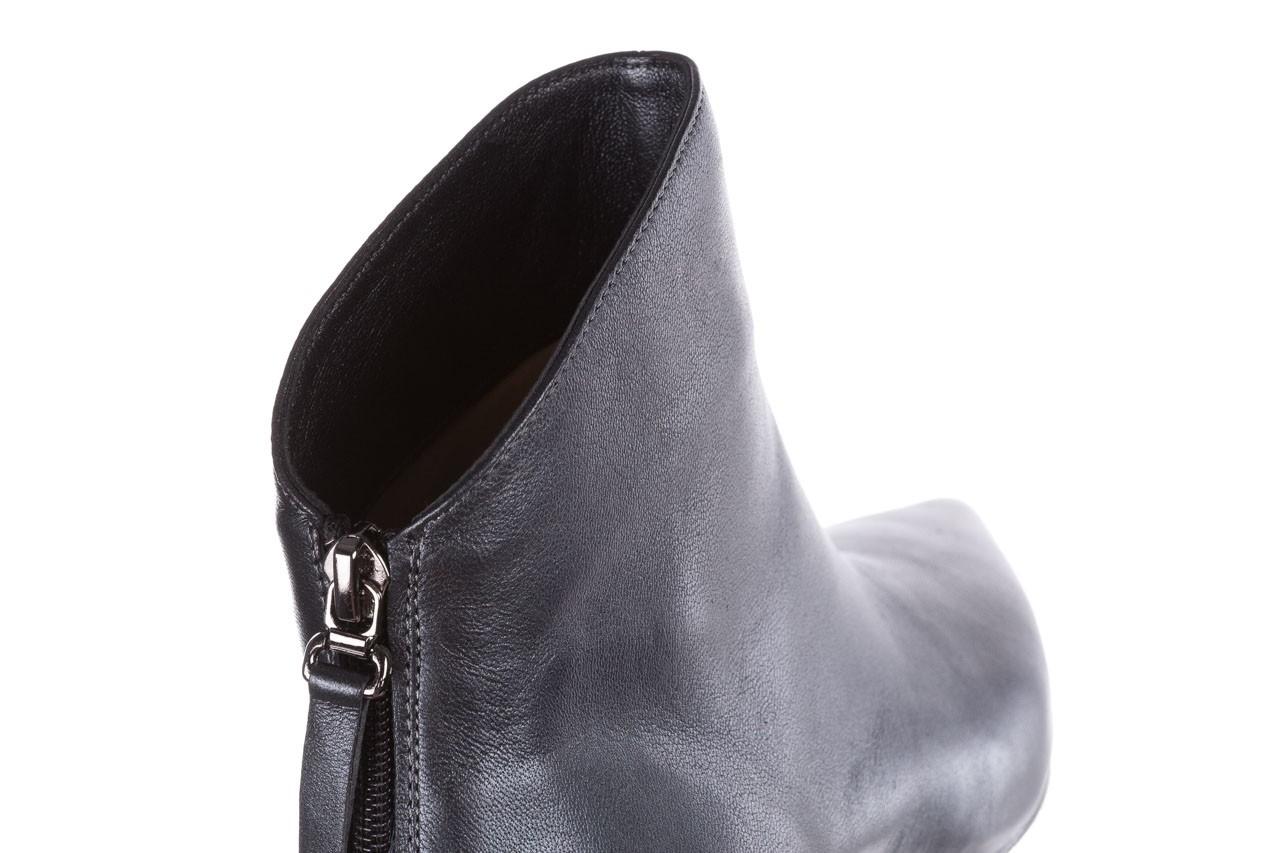 Botki bayla-188 004 metal szary, skóra naturalna - skórzane - botki - buty damskie - kobieta 15