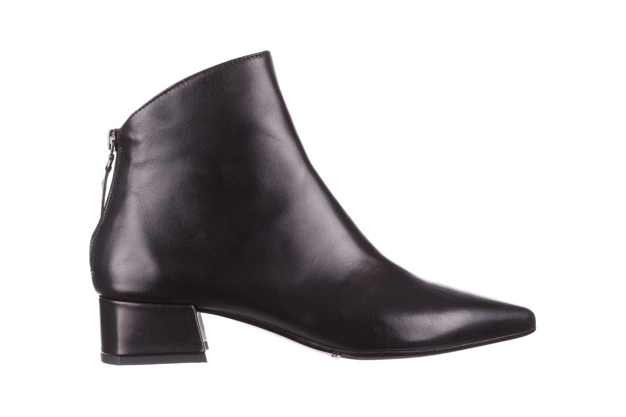 Botki bayla-188 004 czarny lico, skóra naturalna - skórzane - botki - buty damskie - kobieta 9