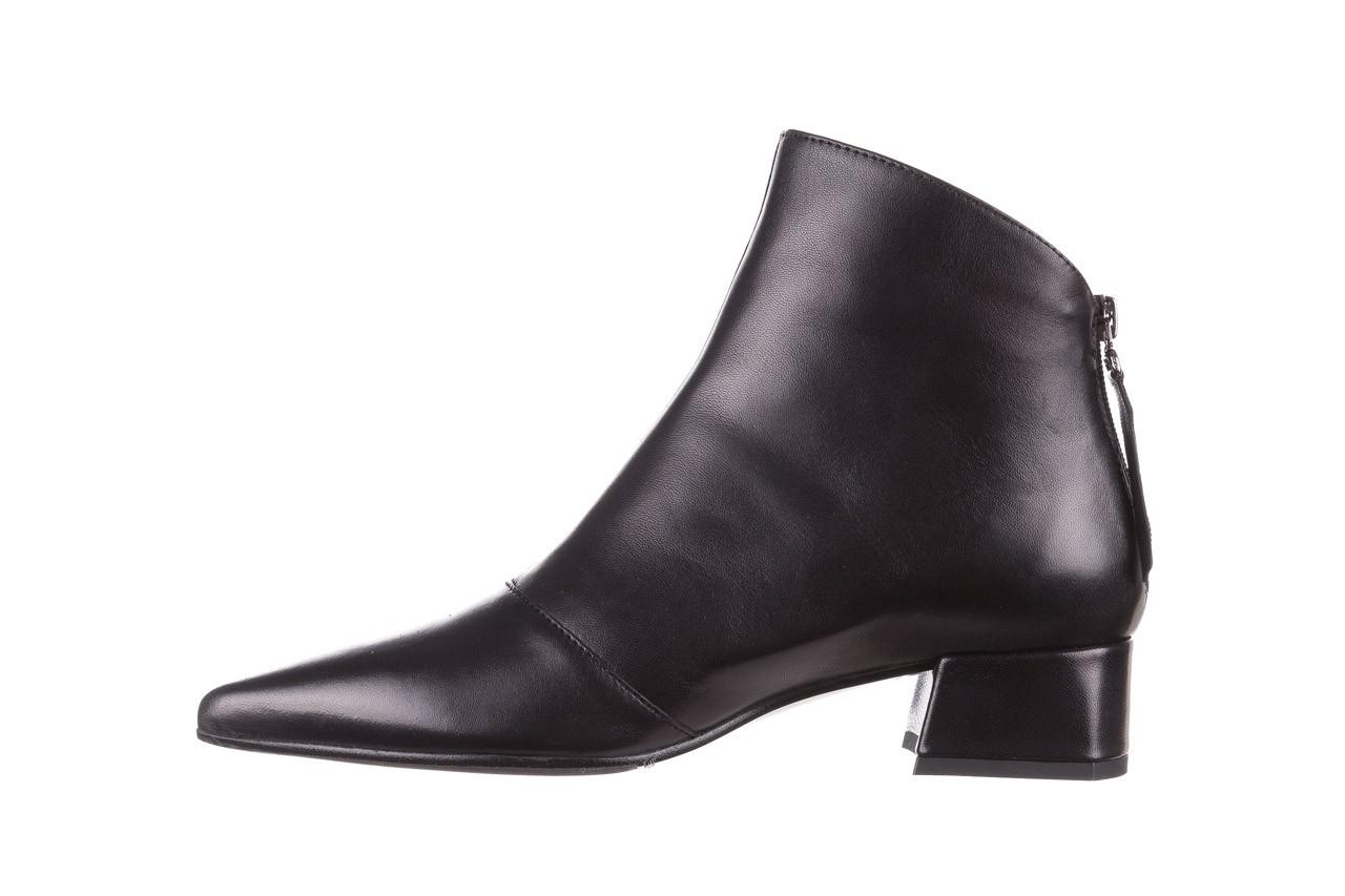 Botki bayla-188 004 czarny lico, skóra naturalna - skórzane - botki - buty damskie - kobieta 12
