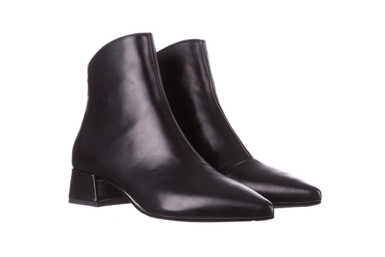 Botki bayla-188 004 czarny lico, skóra naturalna - skórzane - botki - buty damskie - kobieta 10