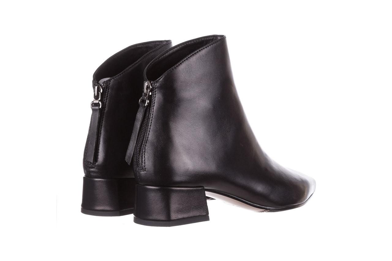 Botki bayla-188 004 czarny lico, skóra naturalna - skórzane - botki - buty damskie - kobieta 13