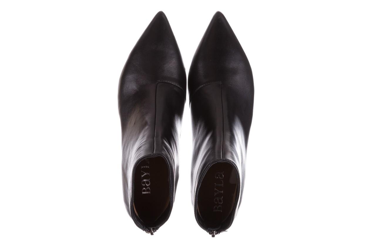 Botki bayla-188 004 czarny lico, skóra naturalna - skórzane - botki - buty damskie - kobieta 14