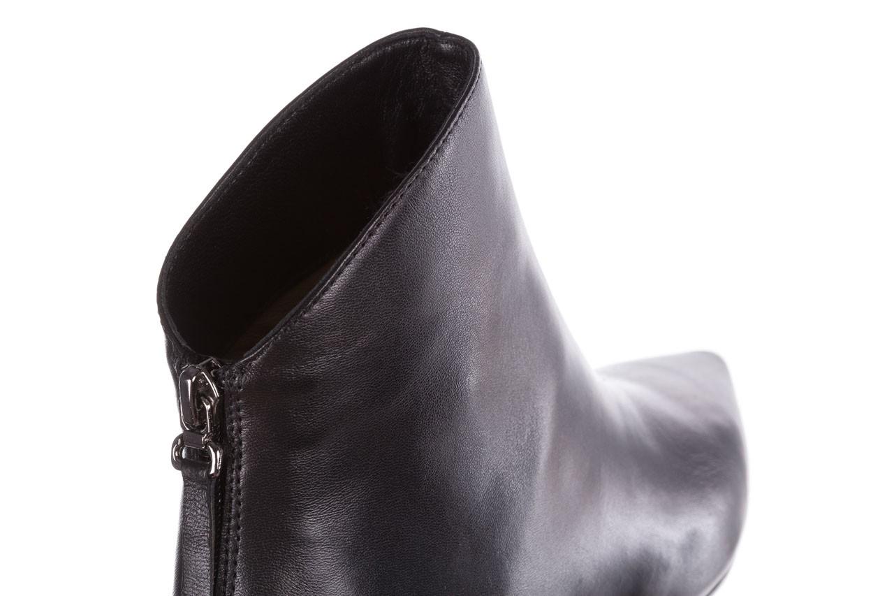 Botki bayla-188 004 czarny lico, skóra naturalna - skórzane - botki - buty damskie - kobieta 15