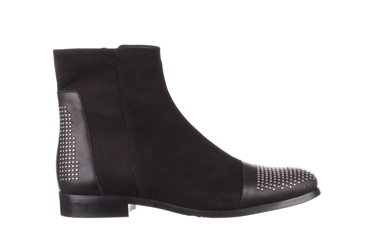 Botki bayla-188 013 czarny, skóra naturalna - sztyblety - botki - buty damskie - kobieta 8